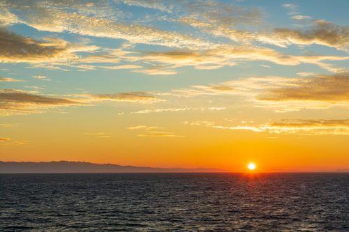 希望の朝日